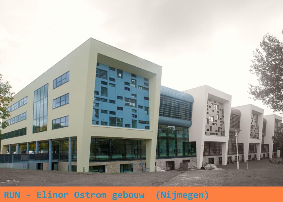 Elinor Ostrom gebouw (Gymnasion) - RU Nijmegen