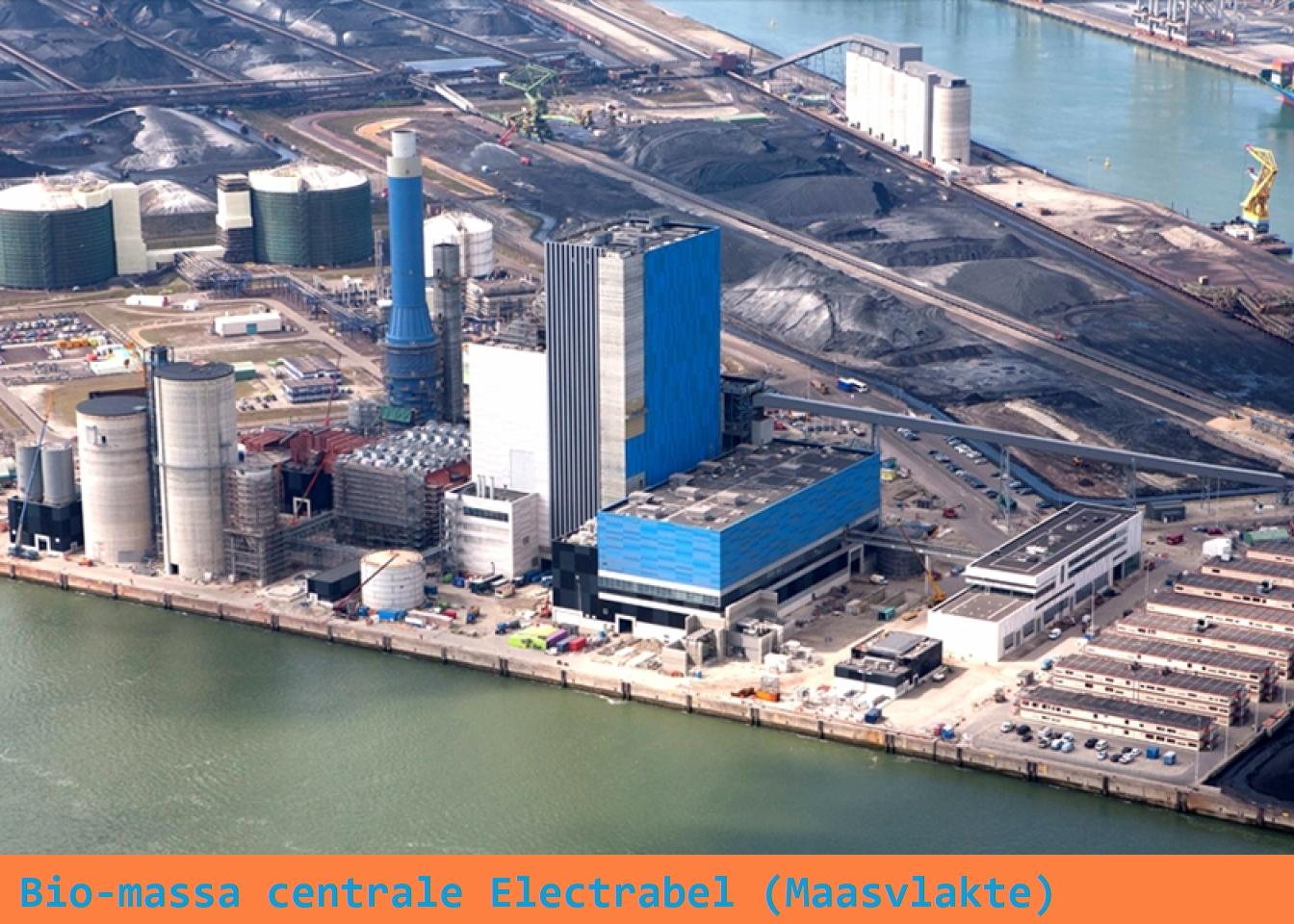Biomassa centrale Electrabel - Maasvlakte